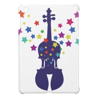 Caso de Ipad de la estrella del violín mini