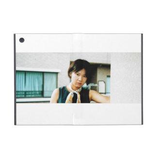 Caso de Ipad de la foto asiática del chica mini iPad Mini Protector