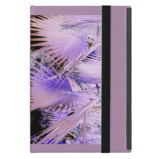 Caso de IPad de la palma tropical púrpura mini iPad Mini Fundas