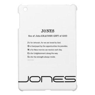 Caso de Ipad del apellido de Jones mini
