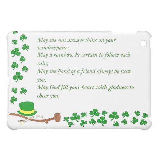 Caso de Ipad del día del St Patricks