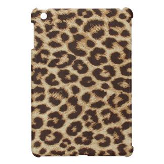 Caso de Ipad del estampado leopardo mini