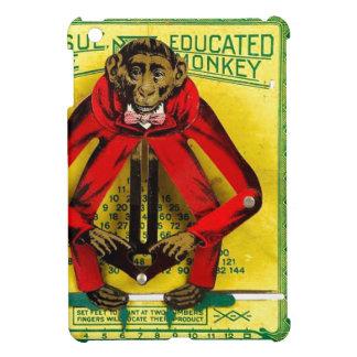 Caso de Ipad del mono del juguete del regalo educa