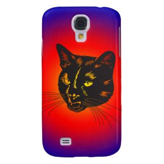 caso de iPhone3g - gato negro