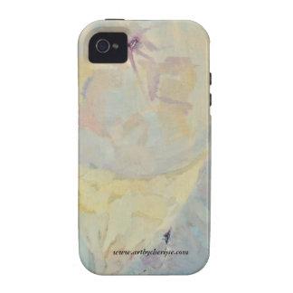 """Caso de Iphone4 de la perla del agua"" Case-Mate iPhone 4 Funda"