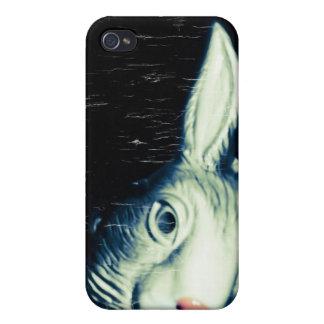"""Caso de iPhone4 del """"conejo raro"""" iPhone 4/4S Funda"""
