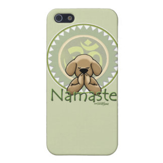 caso de iphone4s - actitud del namste de la yoga iPhone 5 protector