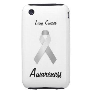 Caso de Iphone 3 3gs de la conciencia del cáncer d Tough iPhone 3 Protectores