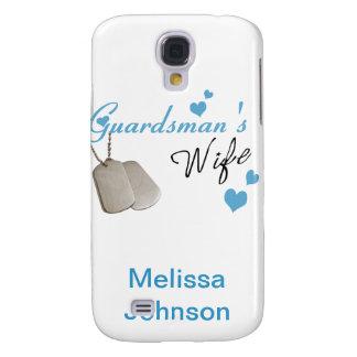 Caso de IPhone 3 de la esposa del soldado de la gu Funda Para Galaxy S4