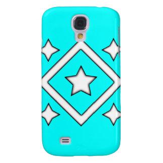 Caso de Iphone 3 de la estrella del diamante ciáni