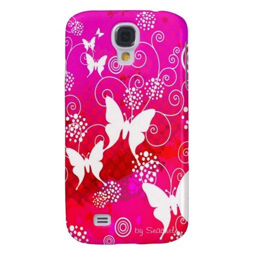 Caso de Iphone 3 de la mariposa