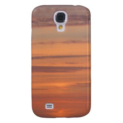 Caso de IPhone 3 de la puesta del sol