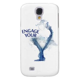 Caso de Iphone 3 Funda Samsung S4