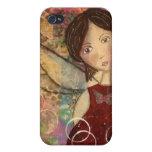 Caso de Iphone 3g/3gs - arte original - ángel iPhone 4/4S Funda