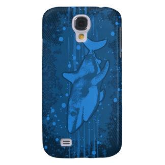 Caso de Iphone 3g/3gs del chapoteo del tiburón Funda Para Galaxy S4