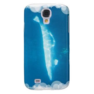 Caso de IPhone 3G de la ballena de la beluga de la