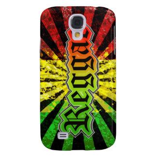 Caso de Iphone 3g del reggae Funda Para Samsung Galaxy S4