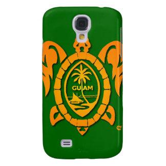 Caso de IPhone 3G del sello de Guam del resplandor