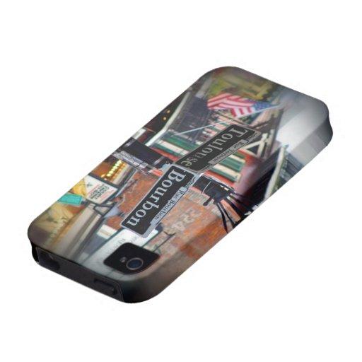 Caso de Iphone 4/4S de la calle de Borbón Case-Mate iPhone 4 Funda