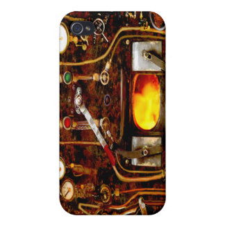 Caso de IPhone 4/4S de la mota de Steampunk iPhone 4 Coberturas