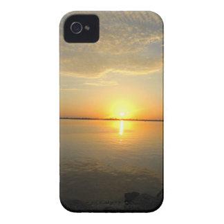 Caso de Iphone 4/4s de la puesta del sol 1 Funda Para iPhone 4 De Case-Mate