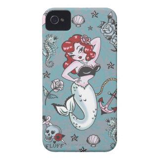 Caso de Iphone 4/4S de la sirena de Molly de la iPhone 4 Protector
