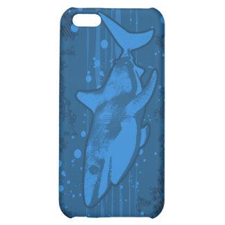 Caso de Iphone 4 4s del chapoteo del tiburón