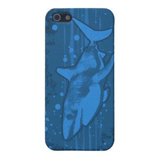Caso de Iphone 4 4s del chapoteo del tiburón iPhone 5 Carcasas
