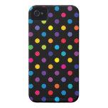 Caso de Iphone 4/4S del lunar del caramelo Case-Mate iPhone 4 Coberturas
