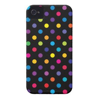 Caso de Iphone 4/4S del lunar del caramelo iPhone 4 Case-Mate Cárcasa