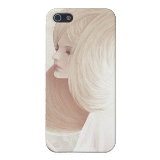"""Caso de Iphone 4/4S del """"platino"""" iPhone 5 Fundas"""