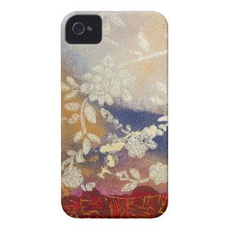 Caso de Iphone 4 Barely There de la flora Case-Mate iPhone 4 Cobertura