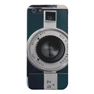 Caso de Iphone 4 de la cámara del vintage iPhone 5 Fundas