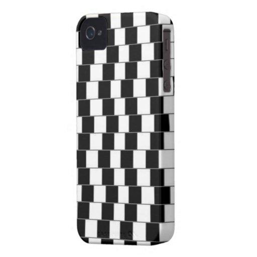 Caso de Iphone 4 de la ilusión óptica iPhone 4 Case-Mate Protector
