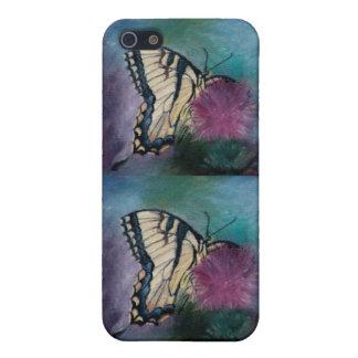 Caso de IPhone 4 de la mariposa de la belleza iPhone 5 Cárcasa