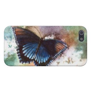 Caso de IPhone 4 de la mariposa de la belleza II iPhone 5 Fundas