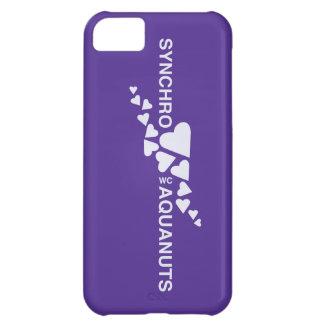 Caso de Iphone 4 de la natación SINCRONIZADA del A Funda Para iPhone 5C