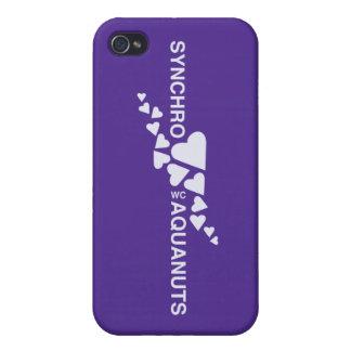 Caso de Iphone 4 de la natación SINCRONIZADA del A iPhone 4/4S Carcasa