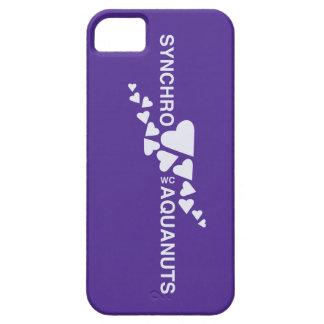 Caso de Iphone 4 de la natación SINCRONIZADA del iPhone 5 Fundas