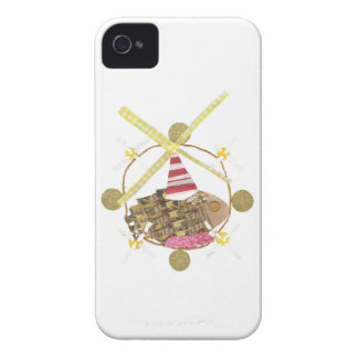 Caso de IPhone 4 de la noria del hámster Case-Mate iPhone 4 Protectores