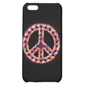 caso de IPhone 4 de la paz 5-Color
