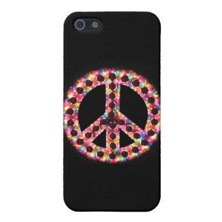 caso de IPhone 4 de la paz 5-Color iPhone 5 Cárcasas