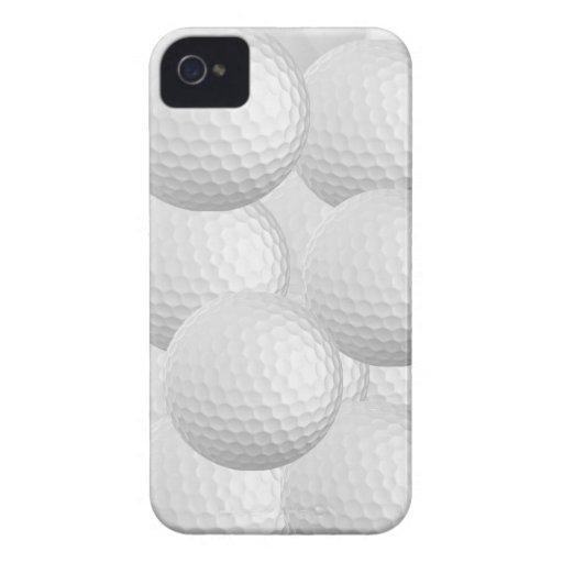 Caso de Iphone 4 de la pelota de golf iPhone 4 Fundas