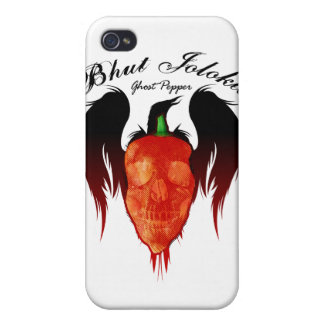 Caso de IPhone 4 de la pimienta $40,95 del fantasm iPhone 4/4S Carcasa