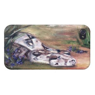 Caso de IPhone 4 de la serpiente de Daphne iPhone 4 Carcasas