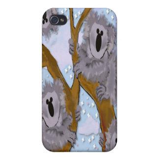 Caso de Iphone 4 de los osos de koala iPhone 4/4S Carcasas