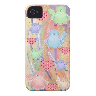Caso de Iphone 4 de los pájaros Case-Mate iPhone 4 Cárcasa