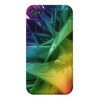 Caso de Iphone 4 del arco iris iPhone 4/4S Carcasa