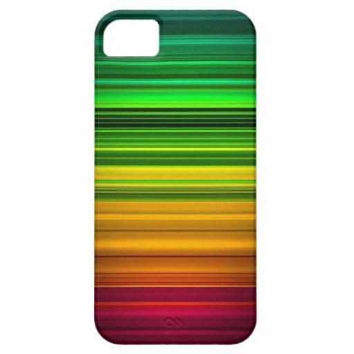 Caso de Iphone 4 del arte abstracto (espectro) Funda Para iPhone SE/5/5s