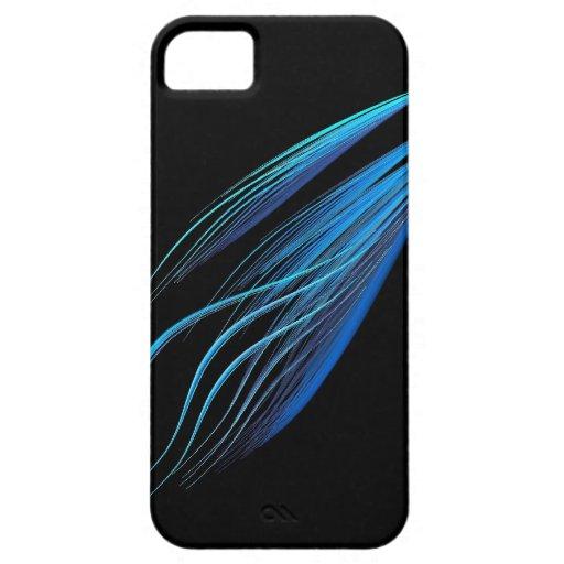 Caso de Iphone 4 del arte abstracto (Tailwind) iPhone 5 Cárcasas